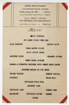Union Men's Banquet of the Harvard Square Churches at the Epworth Methodist Church