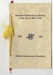 Haarlem Philharmonic Society of the City of New York